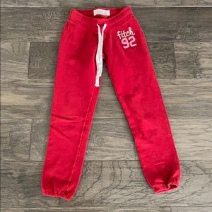 Abercrombie kids sweatpants